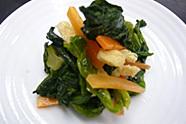 冷凍 小松菜と人参揚げのおひたし 1kg