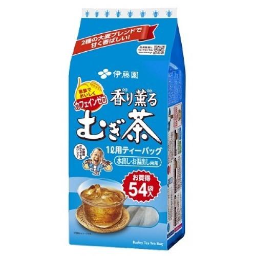 伊藤園 香り薫るむぎ茶54袋