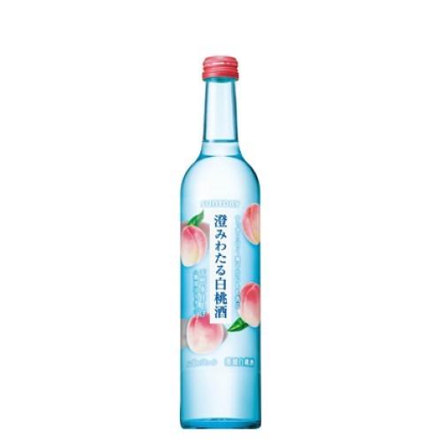 澄みわたる白桃酒